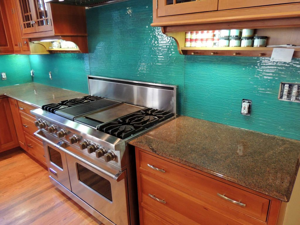 Evergreen Glass - Colored Glass for kitchen counters and back splashes